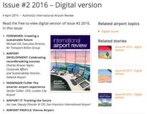 International Airport Review speaks about Envisa !